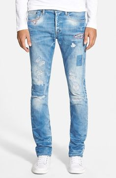 PRPS 'Demon - Bellatrix' Slim Straight Leg Jeans (Indigo) available at #Nordstrom