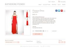 Katherine Feiner's clothing selection come to life with this minimalist web design and tightly organized layout Minimalist Web Design, Web Design Examples, Ecommerce Web Design, Layout, Clothing, Life, Inspiration, Outfits, Biblical Inspiration
