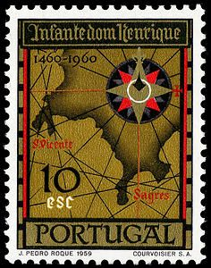 10e Chart of Portugal's Sagres Region single