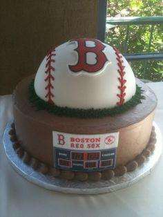 OMG! BASEBALL CAKE!