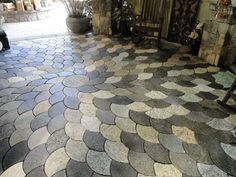 Merveilleux Back Yard Idea My Patio Are Peices Of Granite | For The Home | Pinterest |  Granite, Patios And Yards