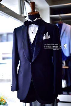 挙式,新郎,オーダータキシード,dinner jacket,tuxedo,ショールカラー,,オーダースーツ,福岡,北九州,ビスポークスーツ110,bespokeSUIT110