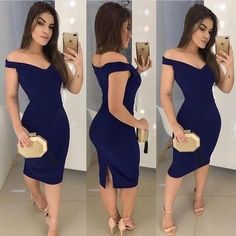 Prom Dresses Split, Short navy blue homecoming dress, whether you want a little sequin detail on a short prom dress or an allover sequin design on your long prom gown, sequins ensure you will sparkle and shine all night. Dance Dresses, Short Dresses, Prom Dresses, Dress Prom, Party Gowns, Party Dress, Navy Blue Homecoming Dress, Schneider, Short Prom