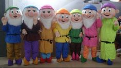 During my breakfast I was watching TV and there was Snow White and the Seven Dwarfs cartoon. My first thought was, what about Seven Dwarf Costumes for upcoming Halloween night? It would be very cool to show up with friends dressed up like a Seven Dwarf.