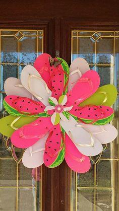 Diy Wreaths For Front Door Summer Dollar Stores