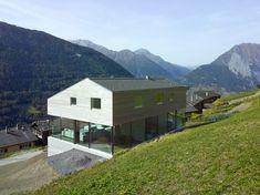 savioz fabrizzi architectes/maison, val d'entremont/Switzerland