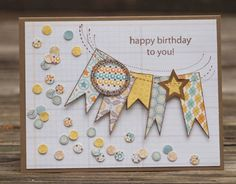 Confetti Birthday by NoraAnne - Cards and Paper Crafts at Splitcoaststampers