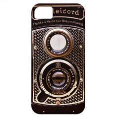 Rolleicord art deco camera iPhone 5 cases
