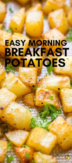 Easy Breakfast Potatoes - Perfect large crowd breakfast potatoes that make holiday breakfasts so special AND delicious. Takes no time at all to make this amazing and filling morning recipe # breakfast potatoes Easy Breakfast Potatoes Breakfast Potatoes Easy, Egg Recipes For Breakfast, Breakfast Time, Best Breakfast, Brunch Recipes, Meals With Potatoes, Easy Breakfast Ideas, Delicious Breakfast Recipes, Breakfast For Dinner