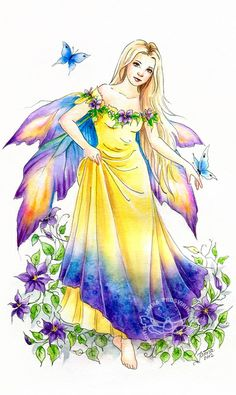 Fairy and Fantasy art by Janna Prosvirina - Clea