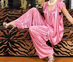 Satin Lingerie, Bridal Lingerie, Vintage Lingerie, Women Lingerie, Silk Satin Dress, Satin Dresses, Sexy Outfits, Pretty Outfits, Patiyala Dress