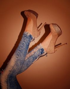 this is the only way i'd ever wear high heels and enoy it