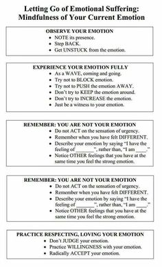 emotional regulation-Creative Clinical Social Worker: Letting Go of Emotional Suffering- Mindfulness (DBT)