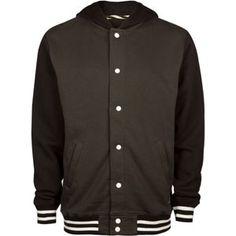 VANS University Mens Jacket #varsity #jacket #stripes #black