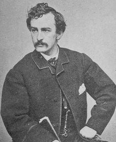 John Wilkes Booth photographed by Alexander Gardner in 1863. #civilwar #johnwilkesbooth