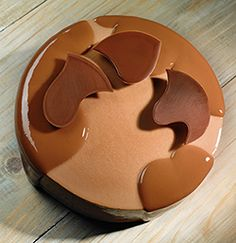 Bahibe Chocolate Entremet, an original recipe by L'Ecole Valrhona