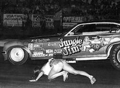 Dave Mcgee's Hot Rods, Hot Chicks And Cool Stuff Group (Vintage Pics Only) Funny Car Drag Racing, Nhra Drag Racing, Funny Cars, Nascar Racing, Car Show Girls, Car Girls, Pam Hardy, Jungle Jim Liberman, Hot Rods