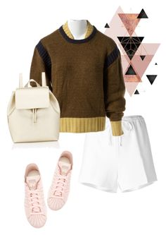 """bag"" by masayuki4499 ❤ liked on Polyvore featuring Alexander Wang, Chanel, adidas and Barneys New York"