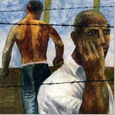 """Concentration Camp""  Ben Shahn"