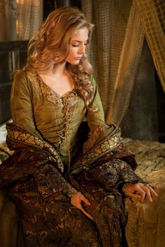 Tamsin Egerton as Guinevere in Camelot