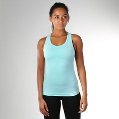 Gymshark Seamless Vest - Mint Green  Our Seamless range's literally seamless knit gives you a closer, more comfortable fit. Keeping you cooler and comfier, for longer. Shop now > https://gymshark.com/products/gymshark-seamless-vest-mint-green