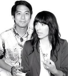 They're just the cutest couple. And might I add that Jimmy looks HOT in this picture. I've never really thought of him like that before... -strawburry17 and jimmywong