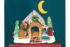 56 Amazing Gingerbread Houses - Pictures of Gingerbread House Design Ideas