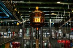France - Paris - Centre national d'art et de culture Georges-Pompidou - Beaubourg