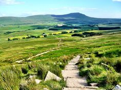 The Yorkshire 3 peaks challenge in the Yorkshire Dales National Park in England - everything you need to know about the Yorkshire Three Peaks hike.