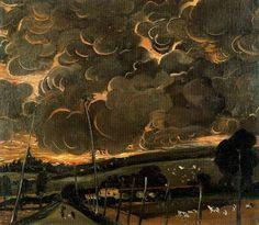 Sorrowful Landscape, 1946 by Andre Derain. Andre Derain, Art Fauvisme, Dragons, Art Asiatique, Oil Canvas, Post Impressionism, Art Database, Art Moderne, Henri Matisse