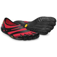 Vibram Five Fingers Men's EL-X Shoe FEATURES of the Vibram Five Fingers Men's EL-X Shoe Polyester Mesh Upper Serrated Blade Lug Design PU Printin...