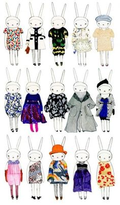 Fifi Lapin is one fashionable bunny! -Marnie