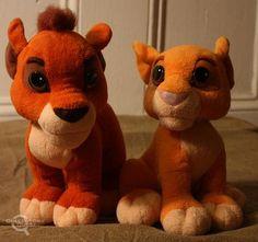 Kiara and Kovu from Lion King II Totally need these!