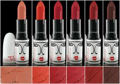 New MAC collection Toledo ( January 2015) -Oxblood (matte) -Barbecue (matte) -Tenor voice (matte) -Victoriana (matte) -Opera (matte) -Sin (matte) (re-promote)
