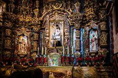 Altar San Xavier Del Bac #sanxavier #sanxavierdelbac #altar #saturated #contrast #sharpen #clarity #overprocessed