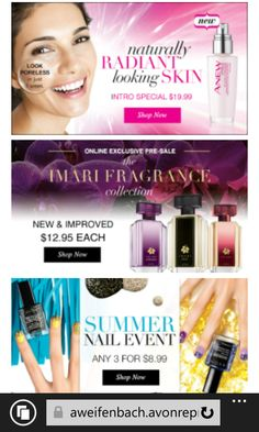 You can get free shipping on orders $25 or more with promo code SHIP25 order your favorite Avon products at www.youravon.com/aweifenbach
