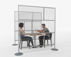 "60"", 80"" & 84"" ROOM PARTITIONS FOR HEALTHCARE, RESTAURANTS, & OFFICES Office Room Dividers, Panel Room Divider, Texture Painting, Layout Design, Room Partitions, Modern Room, Satin Finish, Dining Tables, Offices"
