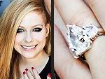 Avril Lavigne's 14 Carat ring.  She says it's much nicer than the 1st two!