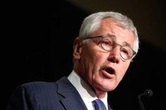 Hagel delivers the keynote address to the Association of U.S. Army annual meeting in Washington