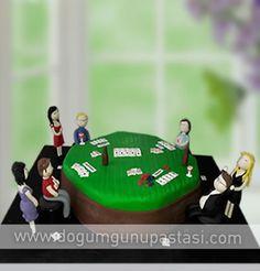 Poker Masası Pastası Görselliği ve İçeriğiyle Taze Olarak Yapılarak Adresine Özel Kutu ve Aracıyla Teslimatı Yapılır. Sevdiklerinizi Sizde Doğum Günü Pastası İle Mutlu Edebilir Onları Şaşırtabilirsiniz #birthdaycake #pokercake