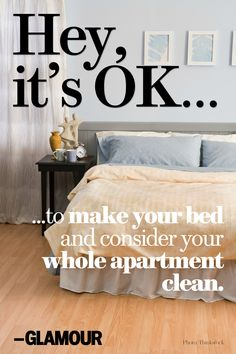 Is that NOT all it takes to clean your place? #HeyitsOK