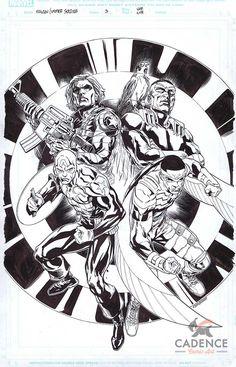 Cadence Comic Art: Original Comic Art Cory Smith, Soldier Drawing, Geek Games, Nerd Geek, Winter Soldier, Comic Art, Otaku, Geek Stuff, Marvel