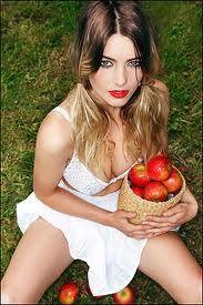 Lust - forbidden fruit idea