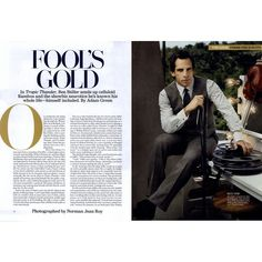 Men's Vogue Editorial Fool's Gold, August 2008 Shot #1 ❤ liked on Polyvore