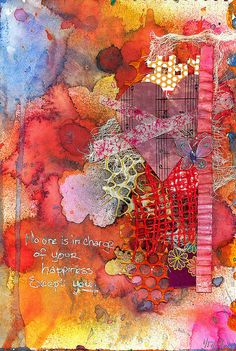 Art Journal - Happiness | Flickr - Photo Sharing!