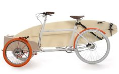 Ride & SUP. Trike bike. Great solution for heavier SUP boards What?!?!?  Maybe someday.