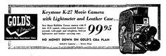 https://flic.kr/p/APfmmW | Vintage Newspaper Advertising For The Keystone 8mm Turret Movie Camera (Model K-27) In The Lincoln Nebraska Evening Journal, April 29, 1958