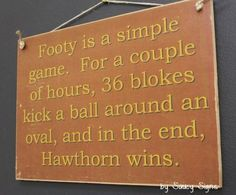Man Cave Signs Melbourne : Adelaide crows grumpy old sign aussie rules footy football tickets