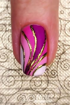 All the inspiration you need for nail designs is right here. Credits by Nail Art Designs Videos, Nail Design Video, Nail Art Videos, Cute Nail Designs, Acrylic Nail Designs, Nails Design, Diy Acrylic Nails, Diy Nails, Cute Nails