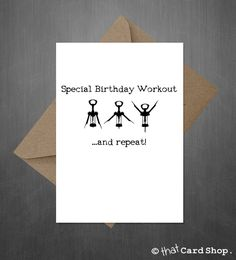 Our latest design is available on our website Funny Birthday Ca... http://www.thatcardshop.co.uk/products/funny-birthday-card-wine-aerobics?utm_campaign=social_autopilot&utm_source=pin&utm_medium=pin